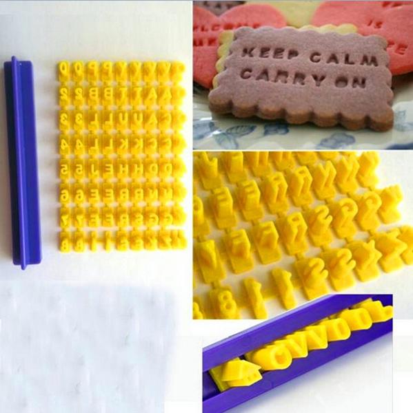 pressstampembosser, Stamps, biscuit, Cake