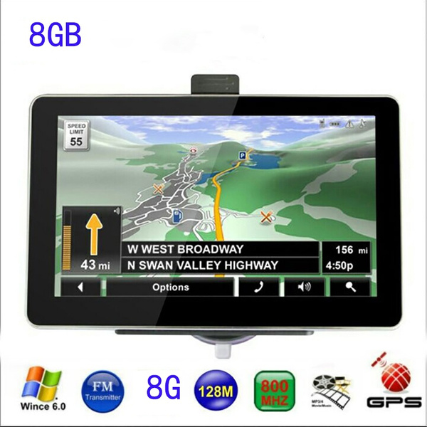 Wish Or Car GPS Navigation Navigator Builtin GB US - Gps with europe and us maps