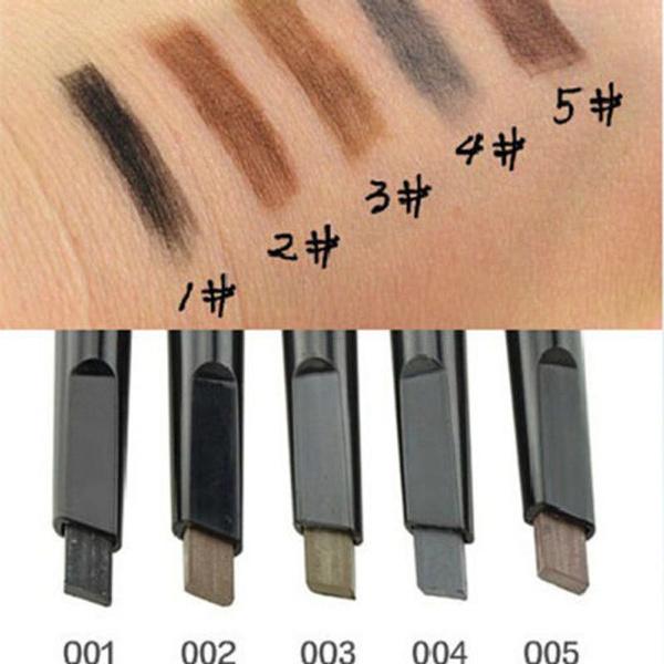 Picture of New Waterproof Eyebrow Pencil Pen Eye Brow Liner Cosmetic Makeup Beauty Tool Ju