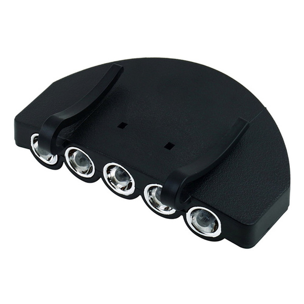 New 5 LED Fishing Camping Head Light HeadLamp Cap hb2