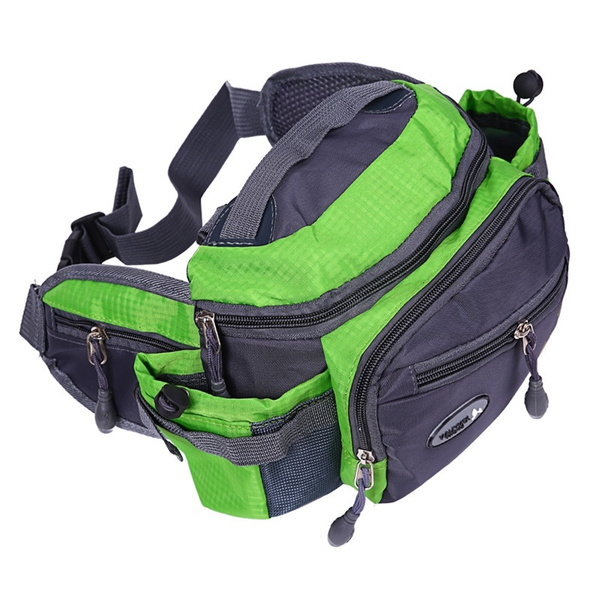 Picture of Outdoor Sports Shoulder Bag Fishing Tackle Storage Crossbody Travel Hiking Climbing Backpack Messenger Sling Bags