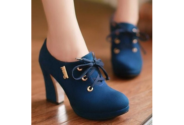 3 Color Women High Heel Half Short Ankle Boots Office Winter Snow Boot Sweet Quality Footwear Warm Botas Shoes EUR Size 32-43