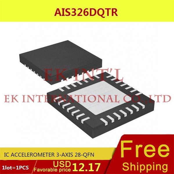 (1PCS) AIS326DQTR IC ACCELEROMETER 3-AXIS 28-QFN 326 AIS326