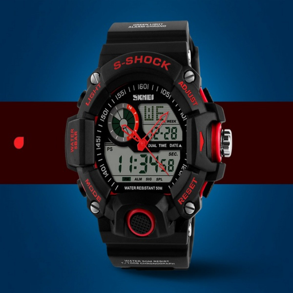 wish brand skmei 1029 s shock sports watches waterproof mens wish brand skmei 1029 s shock sports watches waterproof mens military army watch analog digital led watch outdoor watches men