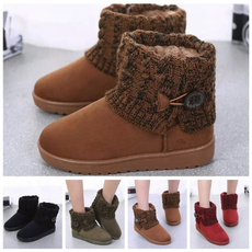 ankle boots, Shorts, Winter, knitboot