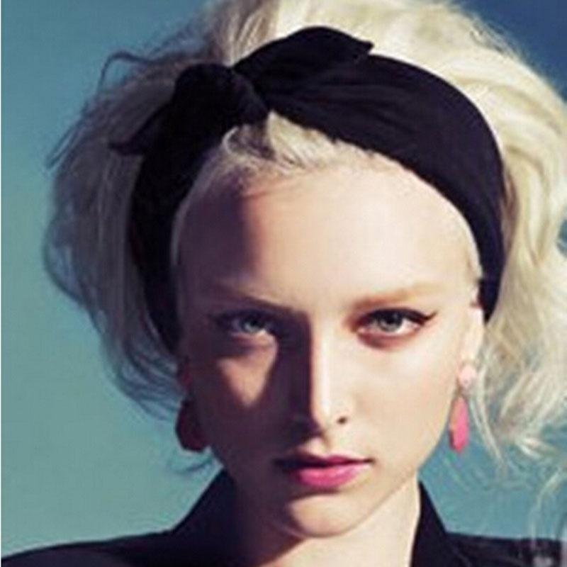 Женская хлопчатобумажная повязка на голову 1 шт.