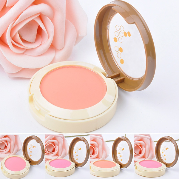 Picture of Makeup Blusher Powder Palette Face Blush Natural Soft Cosmetic Kit