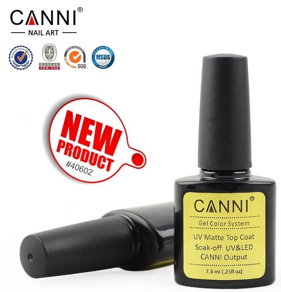 Wish | CANNI MATT UV Gel Nail Polish Matte Top Coat Soak Off Nail ...