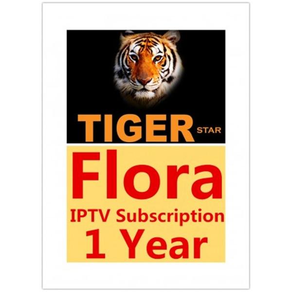 1 year Subscription code or royal iptv for tiger z280 or z400 Tiger IPTV