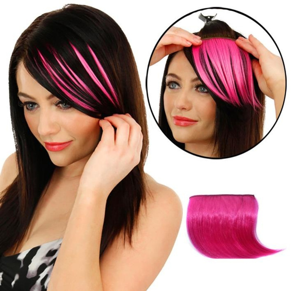 Wish Wear Your Hair In Bangs Pretty Girls Clip On Clip In Front