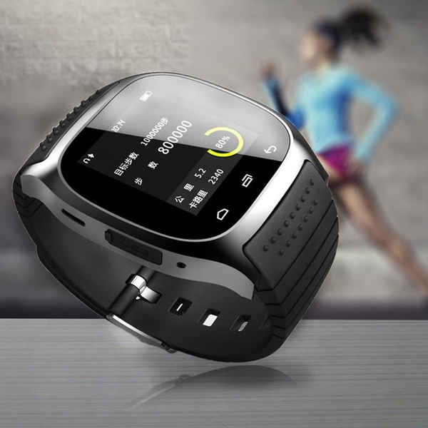 Picture of M26 Bluetooth Smart Wrist Watch Sync Phone Mate