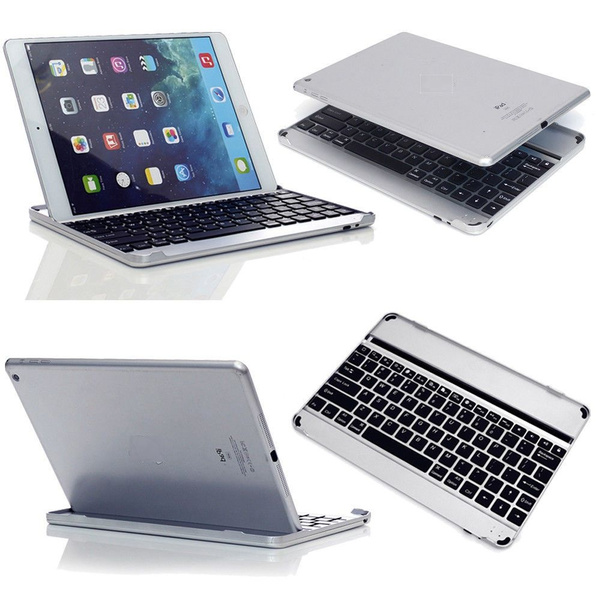 Picture of Ultra Slim Bluetooth Wireless Keyboard Case Cover Stand For Ipad 2 3 4 Ipad Air 1 Air 2 Including A Screen Protector And A Stylus Pen