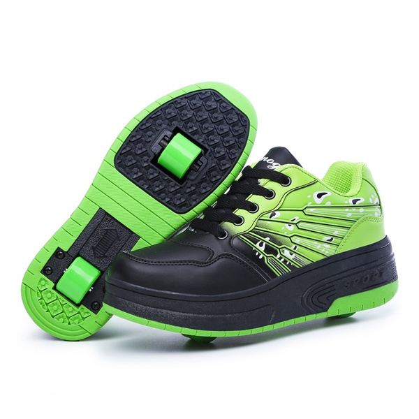 2020 Adidas Cloudfoam Racer Heelys For Boys Size 8 Tr Black Black Grey Three Men's adidas Shoes