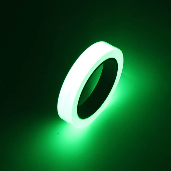 Luminous Glow In The Dark Tape Safety Self-adhesive Stage Home Design Decals