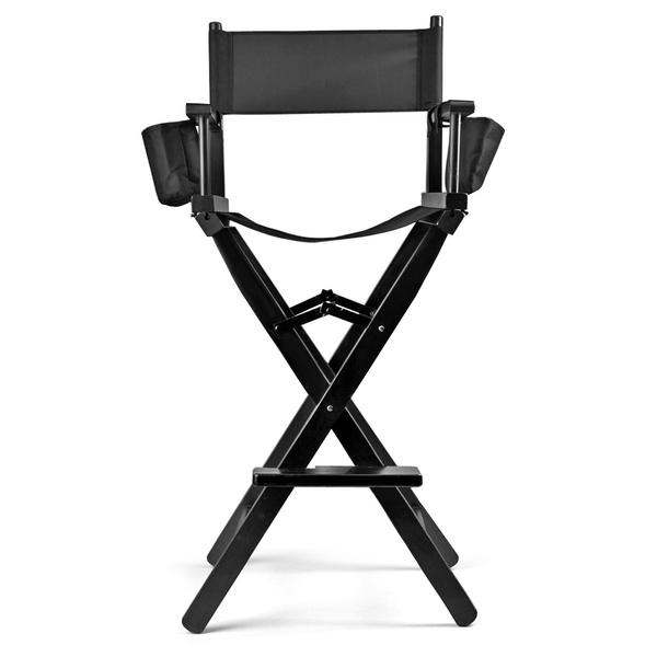 Wish | Professional Makeup Chair Artist Directors Actor Wood Stool Light  Weight Bar Height Seat Foldable With Storage Side Bags And Food Rest Home  Furniture ...