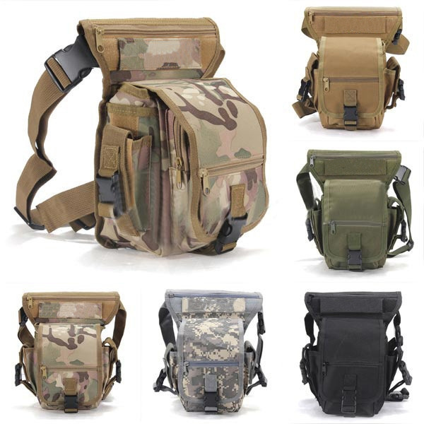 Picture of Military Waist Pack Weapons Tactics Outdoor Sport Ride Leg Bag Special Waterproof Drop Utility Thigh Pouch