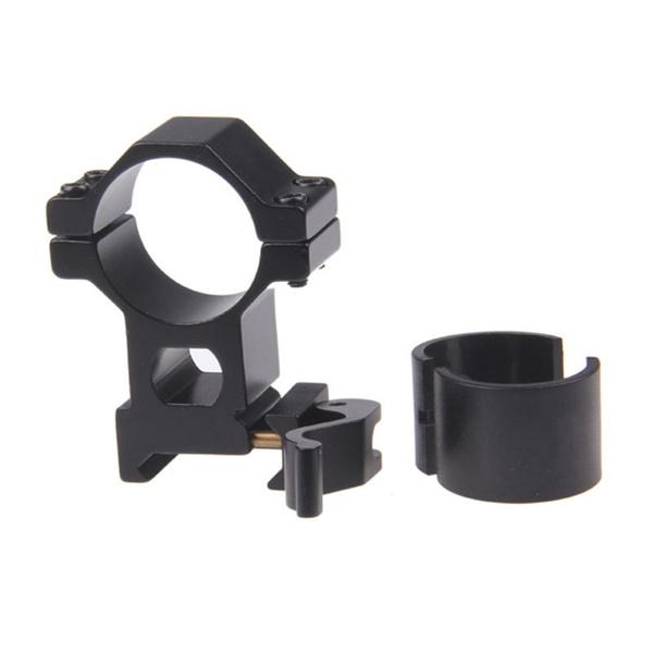 "1/"" 25.4// 30 mm Ring 20mm Weaver Picatinny Rail QD Quick Release Scope Mount"
