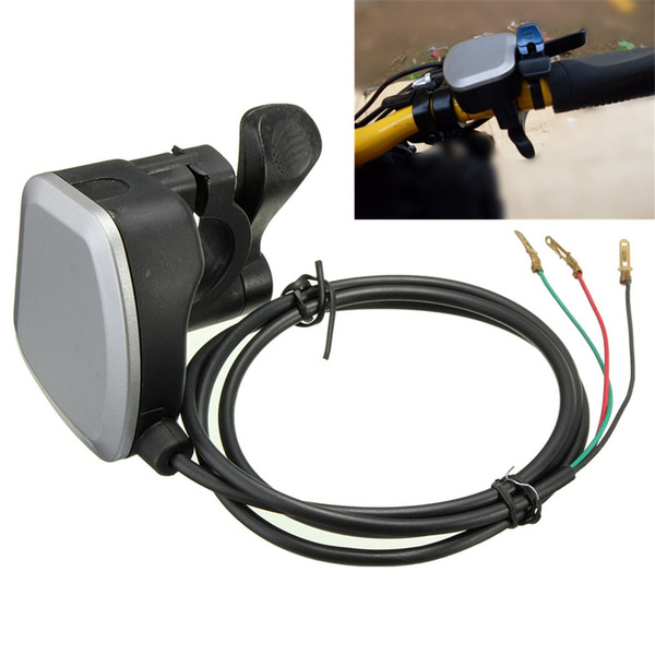 Ils/ /Universal 7//8inch Thumb Throttle Assembly for e-Bike Electric Bike Scooter 3/Wires