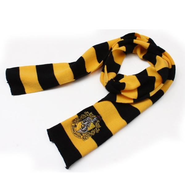 Wish 2015 Harry Scarf Gryffindor Slytherin Hufflepuff Scarf Knit