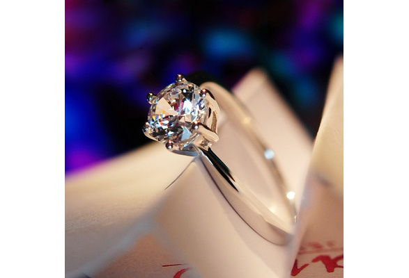 Shipei Orignal 925 Sterling Silver Pure Hearts and Arrows Created Moissanite Rings For Women Wedding Rings Fine Jewelry