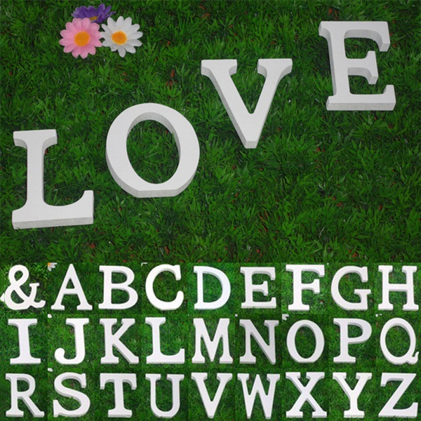 Wooden Alphabet Letters Wall Hanging