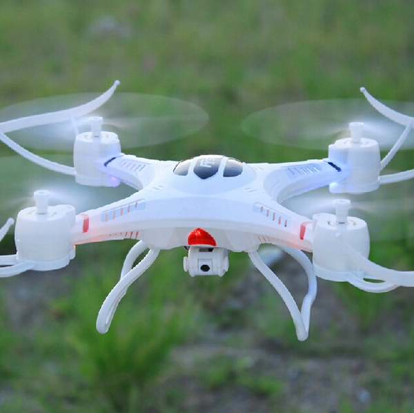 Picture of Rc Drone Fy530 Rc Helicopter Quadcopter 4-ch 6-axis 2.4ghz Gyro Radio Control Drone With Rtf Color White