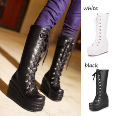winter fashion, wedge, Goth, Fashion