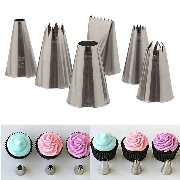 Picture of Cake Decorating Lcing Piping Nozzle Sugarcraft Pastry Tips Tool Set Bnkcab9