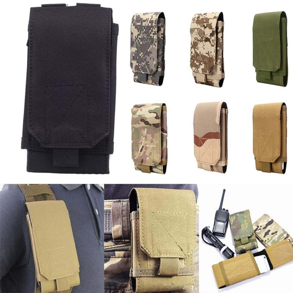 Picture of Black Tactical Outdoors Military Mobile Phone Cover Bag Pouch Case
