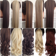 brown, pony, fashion wig, Hair Extensions