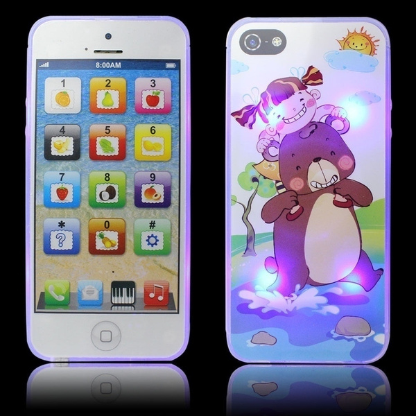 New Childrens Y-Phone Educational Learning Kids iPhone TOY 4s 5 Christmas Gift