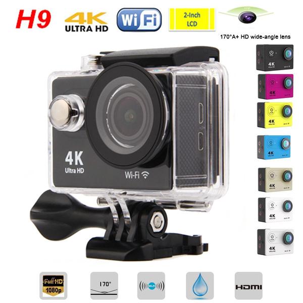 Picture of Wifi 4k Ultra Hd Dvr Video Sport Action Camera 1080p 60fps 12mp Helmet Underwater Sports Cam Dv Diving Waterproof Camcorder
