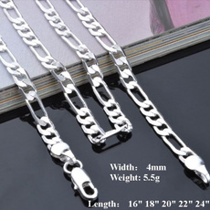 Sterling Silver Jewelry, Sterling, Chain Necklace, Fashion