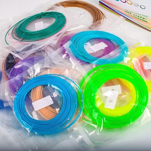 Picture of 10pcs 1.75mm 3d Printing Pen Printer Abs Filament Consumables