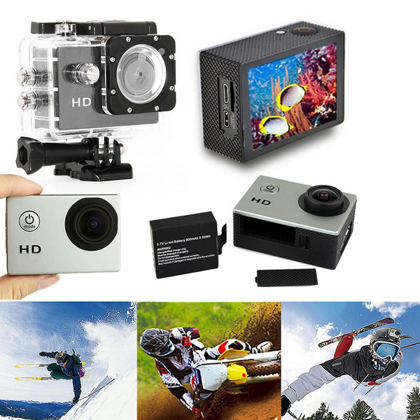 Picture of 1080p Fhd Sports Dvr Full Hd Dv Action Waterproof 30m Camera 2 Color