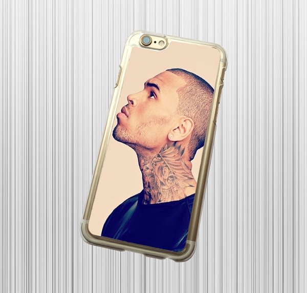 chris brown smile 2 iphone case