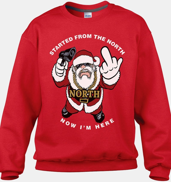 Funny Christmas Sweater.Funny Santa Sweater Funny Ugly Christmas Sweater Tacky Christmas Sweaters Cool Christmas Sweaters Christmas Sweater Party Random Shirt