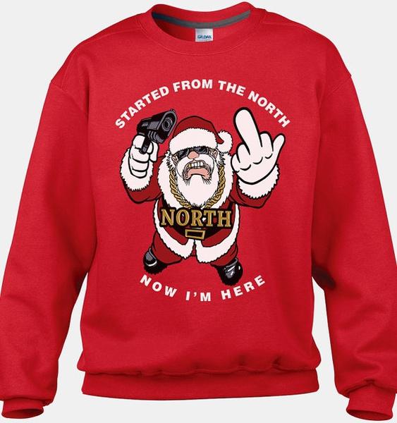 Funny Christmas Sweater.Funny Santa Sweater Funny Ugly Christmas Sweater Tacky Christmas Sweaters Cool Christmas Sweaters Christmas Sweater Party Random Shirt