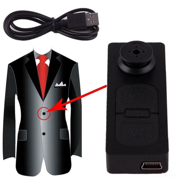 Picture of Mini Spy Button Hd Video Recorder Hidden Pinhole Camera Camcorder 1280 X960p