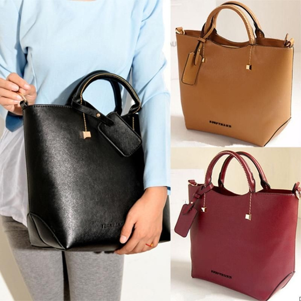 Picture of Women Handbag Shoulder Bags Tote Purse Pu Leather Women Messenger Hobo Bag