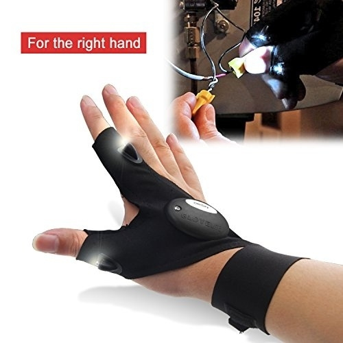 fingerlessglove, Outdoor, led, ledfishingglove