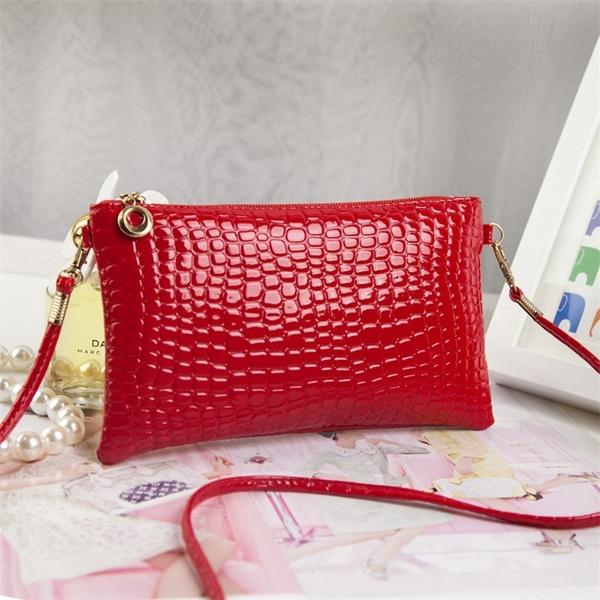 Picture of Women's Crocodile Pattern Shoulderbags Handbags