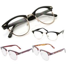 classicclasse, Fashion, halfframeglasse, gold