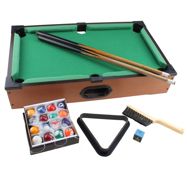 Wish | Mini Pool Table Game Table Top With Accessories Board Games ...