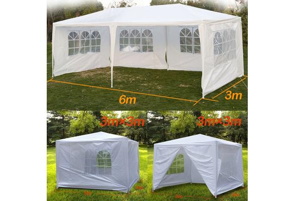 Segawe? 10' X 10'/10' x 20' Outdoor White Canopy Party Wedding Tent (We don't ship to AK/HI/PR/APO/FPO/PO BOX)