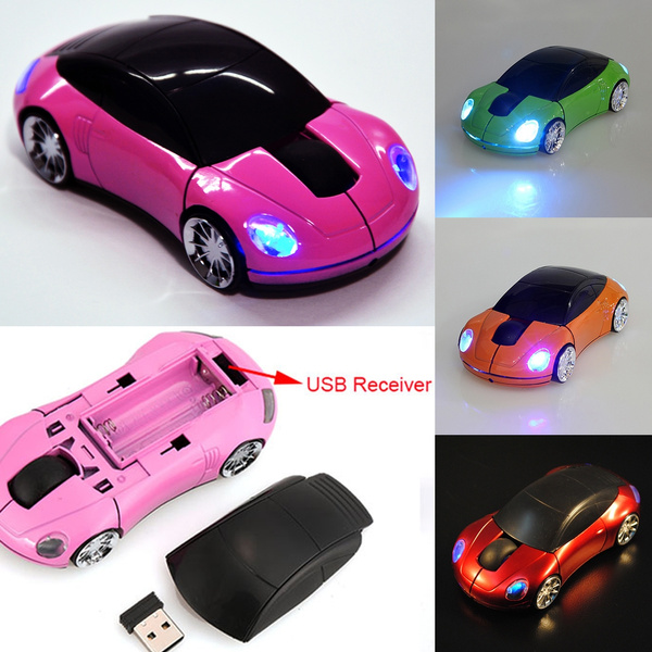 Picture of 3d Car Shaped Wireless Optical Mouse For Computer2.4g 1800cpi