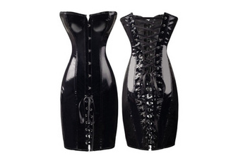 latex, Goth, Lace, Corset