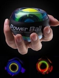 Fitness Exercise Gyro Wrist Exerciser Gyroscope Power Ball Gyro Power Ball LED Glow Wrist Ball Golf