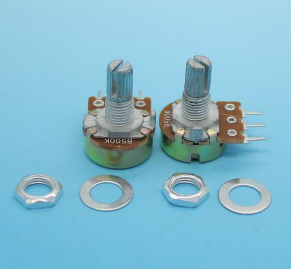 10 x B500K 500K Ohm Linear Taper Mini Potentiomètre Pot