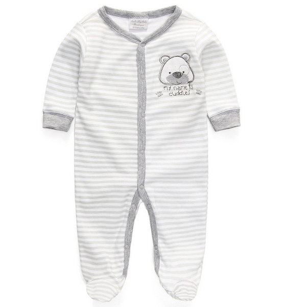5201e484d baby rompers foot cover baby girls pajamas romper newborn feet cover ...